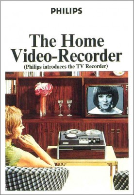 first home video recorder around 1968