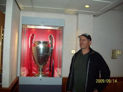 old big ears at Anfield (The European Cup,not Henning!)