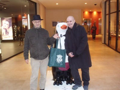 "Henning, Ken and a further ""Pinguin"" :-)"