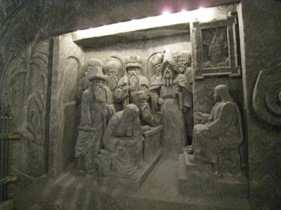 Salt Wall  Carvings