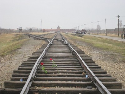 Auschwitz II Birkenau. The end of the Line.
