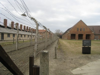 Auschwitz I  Electric fence