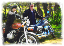 Lenny & Greg Riding Their Hondas Forum Pic.jpg